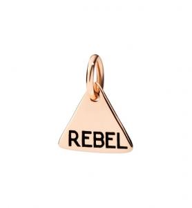 Ciondolo Rebel in Oro Rosa 9 Ct