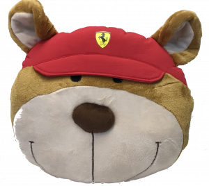 Scuderia Ferrari Teddy Face Face Cushion