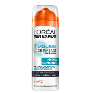 Loreal Men Expert Hydra Sensitive Mousse Da Barba 200ml