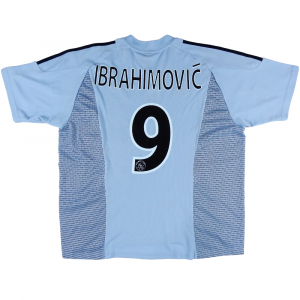 2002-03 Ajax Maglia Away #9 Ibrahimovic XL (Top)