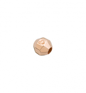 SASSOLINO STOPPER COLLANA BOLLICINE Argento, Oro rosa 9 kt