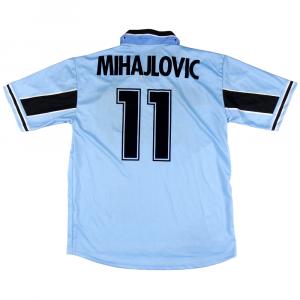 1998-00 Lazio Maglia Home #11 Mihajlovic XL *Nuova