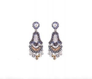 Sapphire Waves - Rita Earrings