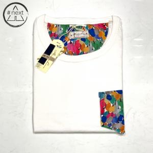 Alessandro Lamura - t-shirt in cotone con taschino - bianco Fantasy