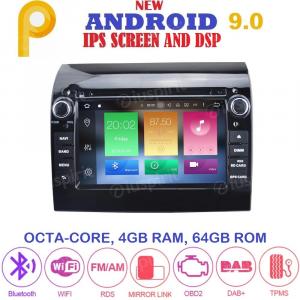 ANDROID 9.0 autoradio navigatore per Fiat Ducato 2011-2019 GPS DVD WI-FI Bluetooth MirrorLink