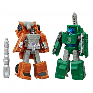 Transformers Generations War for Cybertron: Earthrise Action Figures - BOMBSHOCK & DECEPTICON GROWL