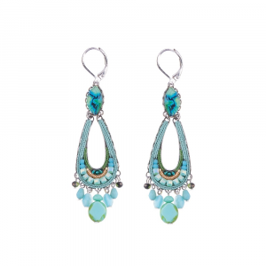 Clear Water - Belle Earrings