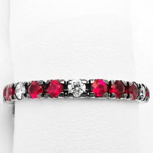 Fedina Eternelle Diamanti e Rubini