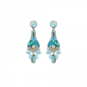 Clear Water - Classic Post Earrings