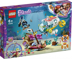 LEGO FRIENDS MISSIONE SOCCORSO DEI DELFINI