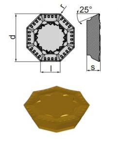 Inserti OFER 070405 SN-BP BCP25M
