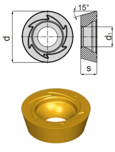 Inserti RDKW 12T3 MOS-MP BCP25M