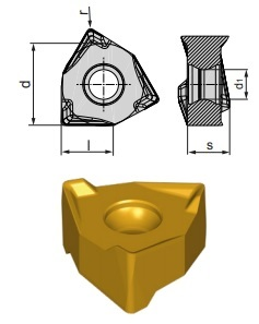 Inserti WNEX 080608-RP BCP25M