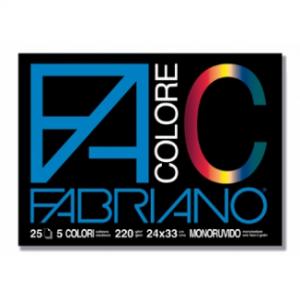 ALBUM FACOLORE 25FG 33X48 220GR COL.ASS.