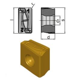 Inserti LNMX 131308 SR-RP BCP35M