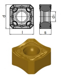 Inserti SNMX 1206 ANSN-MM BCM35M