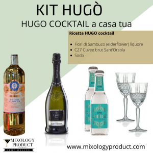 KIT HUGO COCKTAIL - SAMBUCO SPRITZ-ELDERFLOWERS SPRITZ