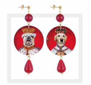 The Circle Classici - Labrador e Bulldog Pietra Rossa