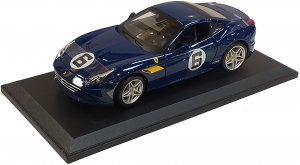 Ferrari California Turbo #6 Blue 1/18