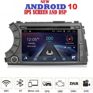 ANDROID 10 autoradio 2 DIN navigatore per SsangYong Kyron Actyon 2005-2013 GPS DVD USB SD WI-FI Bluetooth Mirrorlink
