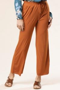 Pantalone cropped jersey
