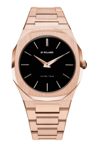 D1 MILANO ROSE GOLD ULTRA THIN BRACELET 40 MM