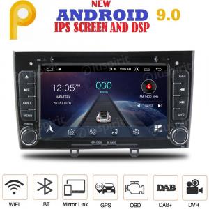 ANDROID 9.0 autoradio 2 DIN navigatore per Peugeot 308, Peugeot 408 GPS DVD USB SD WI-FI Bluetooth Mirrorlink