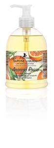 Sapone Liquido Arancio Rosso 500 ml