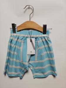 pantalone corto in cotone organico 6-24 mesi