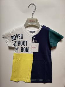 T-shirt cotone multicolor 3-36 mesi