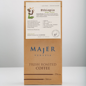 Coffee beans Majer Etiopia Bonga Forest - 1000gr