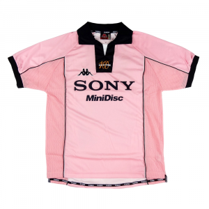 1997-98 Juventus Maglia Away Rosa Centenario  L *Nuova