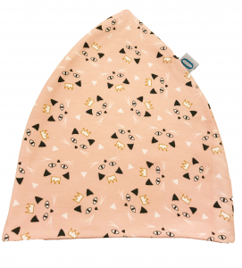 Gattini rosa cappello doppio