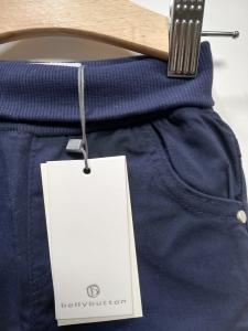 Pantalone lungo tela newborn 62-92 cm