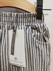 Pantalone lungo in tela 62-92 cm