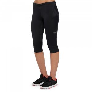 pantalone a 3/4 running donna scarlet nero MACRON 38010193