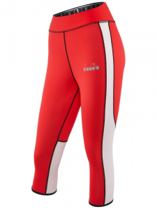 Diadora Sport L. 3/4 REVERSIBLE TIGHTS Running leggings - Women