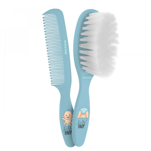 Beter Baby Brush And Comb Set Blue