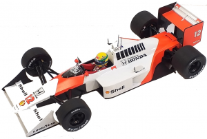 McLaren Honda MP4/4 Ayrton Senna World Champion 1988 1/18