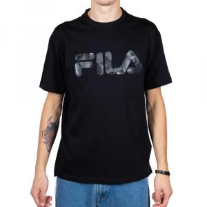 Fila T Shirt con Stampa Black da Uomo