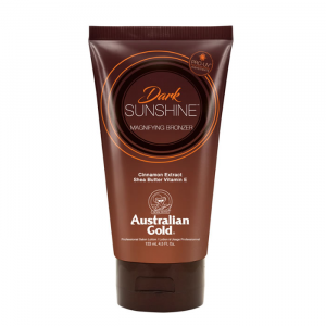 Austraian Gold Sunscreen Dark Magnifying Bronzer Professional Lotion 133ml