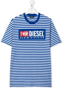 T-shirt Diesel Rigata