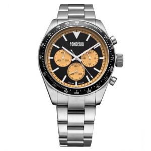 orologio Fonderia-Saltspeeder orange silver bracelet