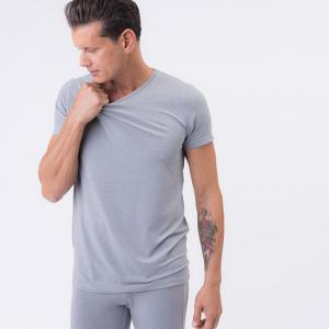 T-shirt traspirante uomo grigia