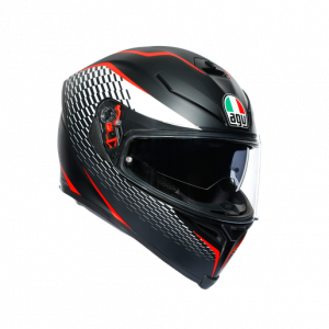 Casco AGV K5 S Thunder Black/White/Red