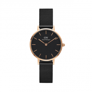 Orologio Daniel Wellington, PETITE ASHFIELD Rose Gold Black
