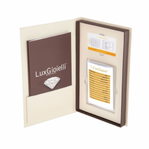 Diamante Lux Gioielli in Blister Certificato CT 0.05