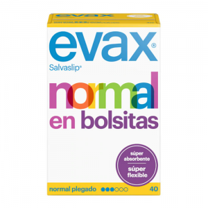 Evax  Normal Fresh Pantyliners Small Bags 40 Unità