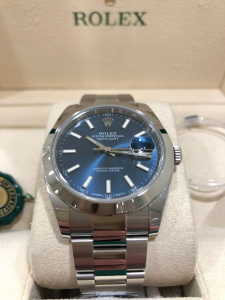 Rolex Datejust 41 mm Blu 126300
