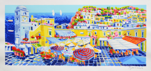 Faccincani Athos Serigrafia polimaterica Formato cm 50x100